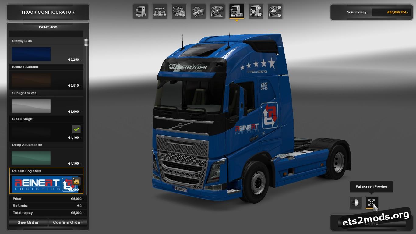 Reworked Reinert Logistics Combo Pack