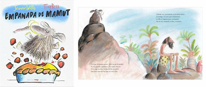cuentos infantiles prehistoria niños Empanada de mamut