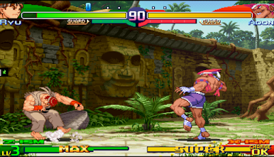 【PSP】街頭霸王 ZERO3,經典卡普空格鬥對戰!