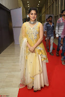 Nivetha Thamos in bright yellow dress at Ninnu Kori pre release function ~  Exclusive (47).JPG