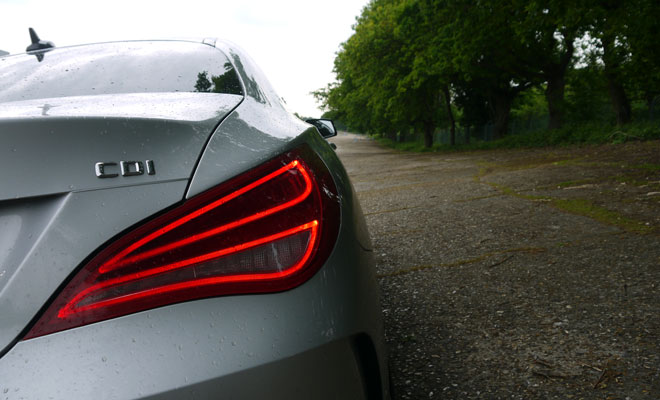 Mercedes CLA rear lamp