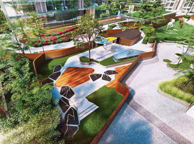 Sunsuria Forum Setia Alam Deck Facilities