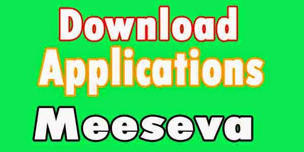 MeeSeva  Applications MeeSeva   Physical Applications