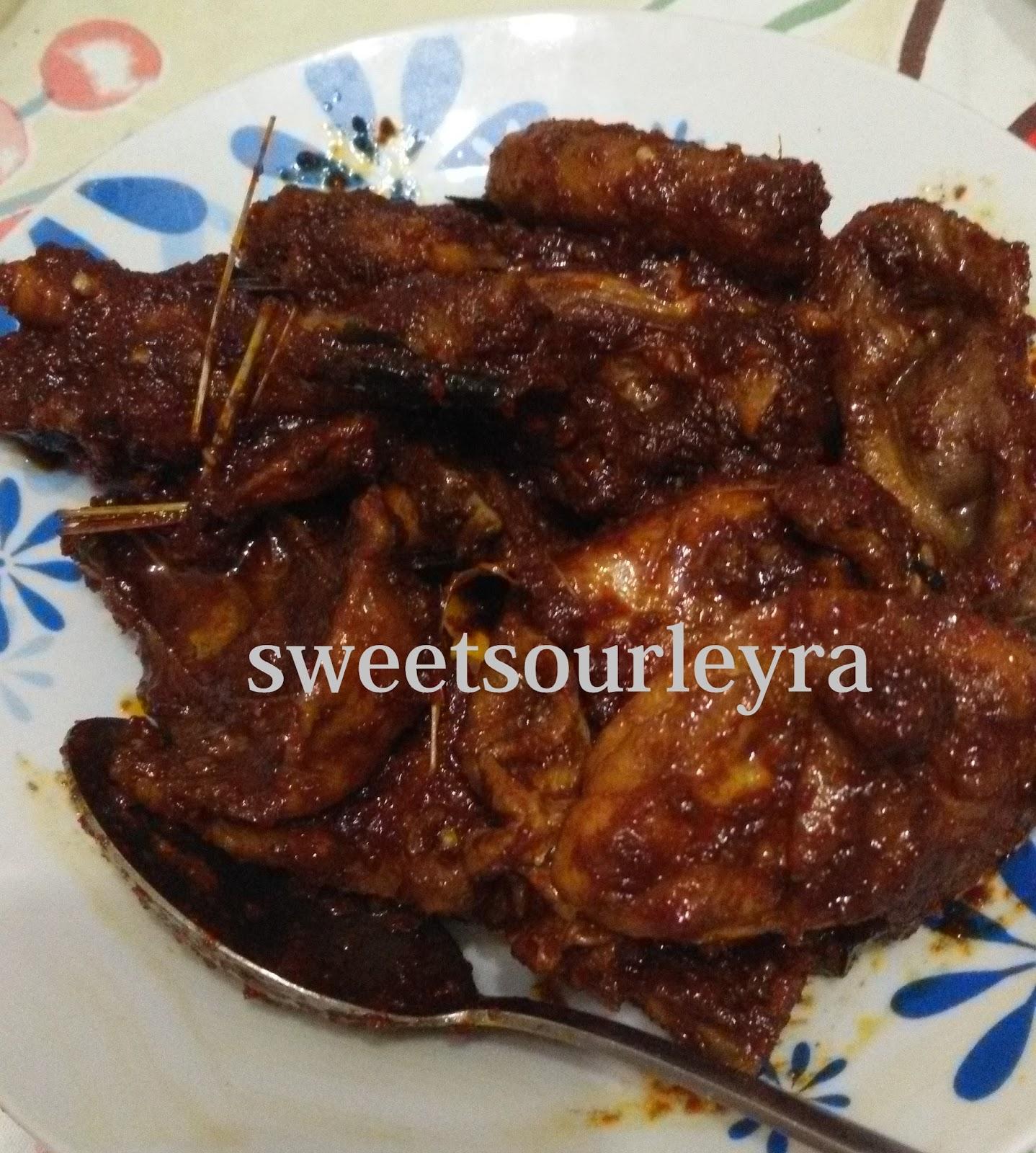 Ayam Masak Bali Blogiamfuzy Lifestyle Blog