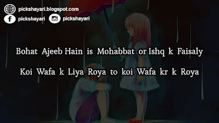 Mohabbat Shayari in English