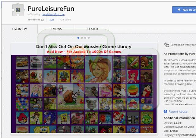 PureLeisureFun (Adware)