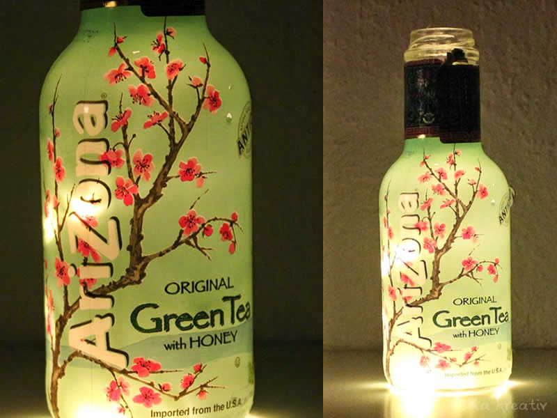 Arizona Green Tea DIY Lamp
