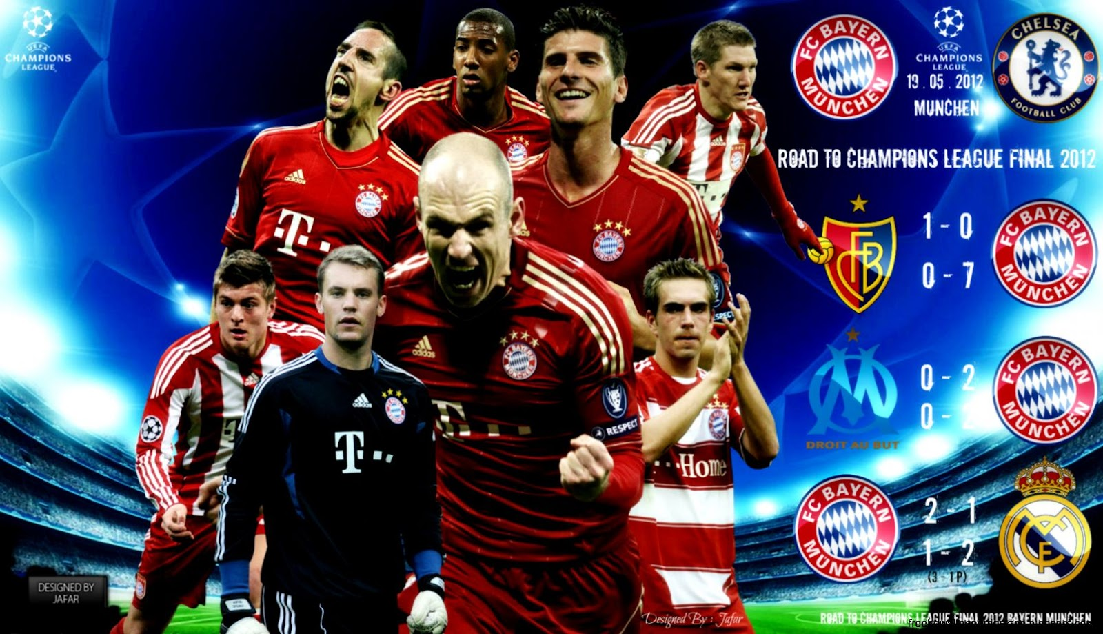 Fc Bayern Munchen Robben Wallpaper Desktop Free High Definition Wallpapers