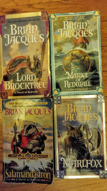 Redwall books--Brian Jacques