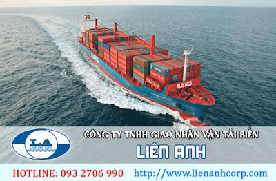 vận chuyển hàng hóa quốc tế bằng đường biển từ TPHCM Liên Anh
