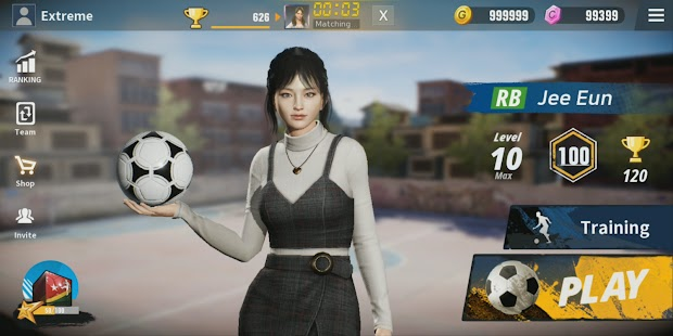 Extreme football Apk+Data Free on Android Game Download
