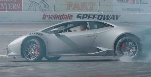 Stina Hubinette Lamborghini Huracán LP580-2