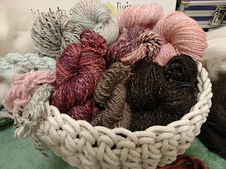 Handspun yarn by Color Energy Designs