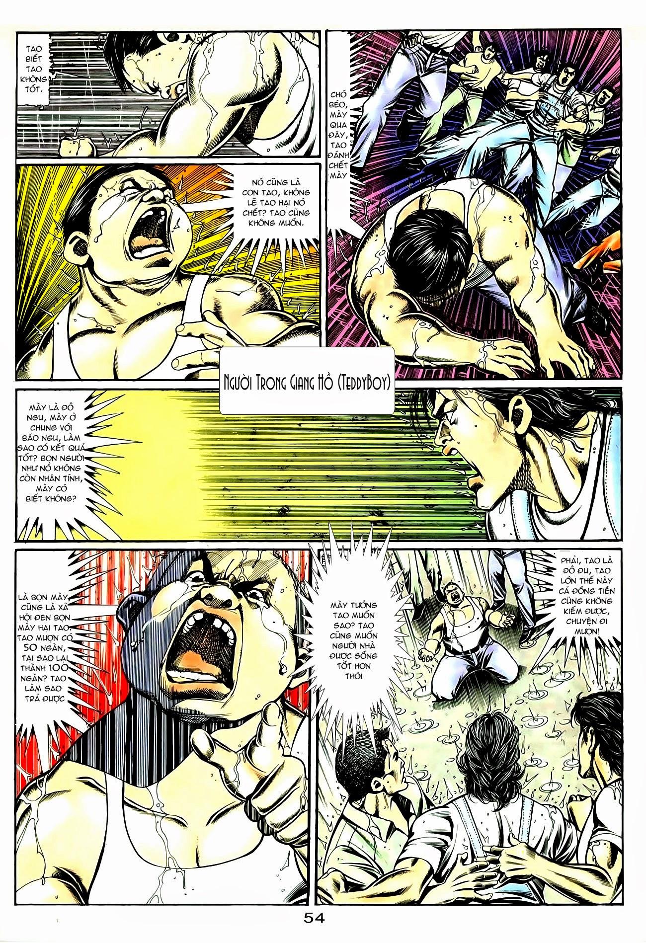 Người Trong Giang Hồ chapter 85: diệt môn trang 27