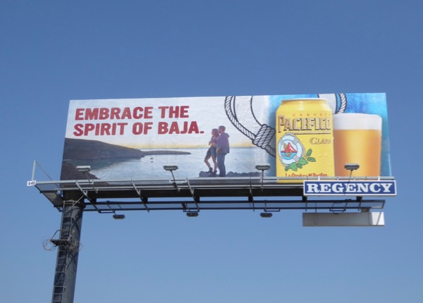 Pacifico Embrace spirit Baja billboard