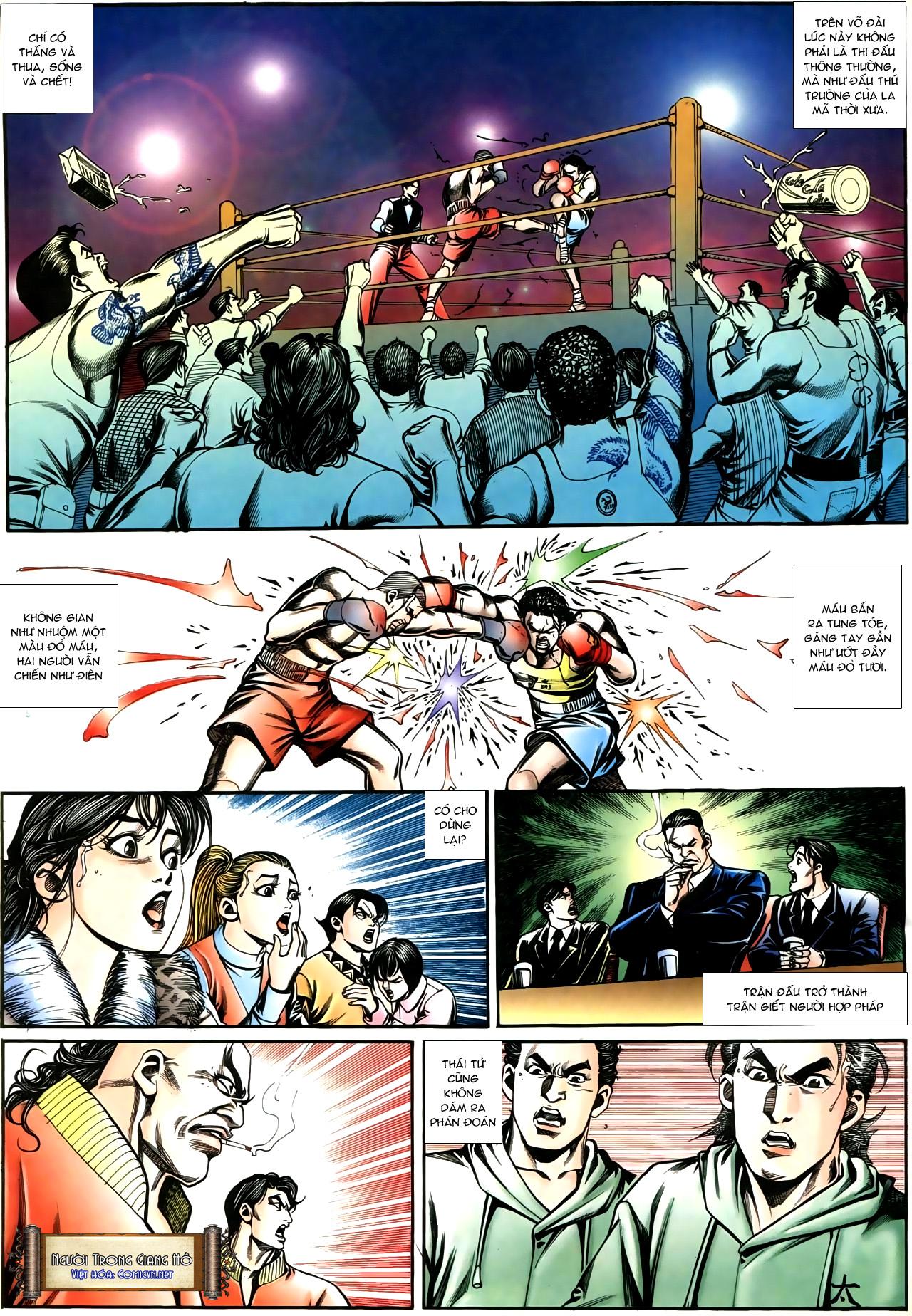 Người Trong Giang Hồ chapter 195: sóng gió ngút trời trang 20
