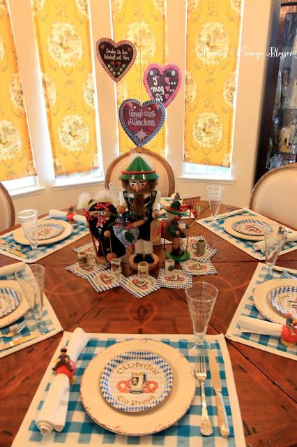 Oktoberfest Table