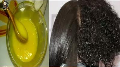 معجزة تنعيم وفرد الشعر في دقائق / لن تحتاجي البروتين او الكيرياتين بعد استخدام الوصفة