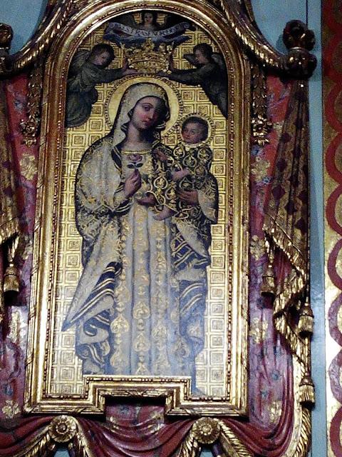 Virgen de la Antigua en la Catedral de Lima, Perú