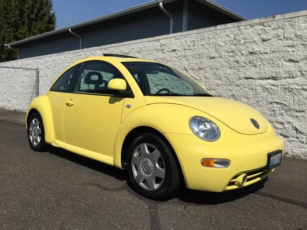 used 1999 volkswagen new beetle turbo by owner. Black Bedroom Furniture Sets. Home Design Ideas