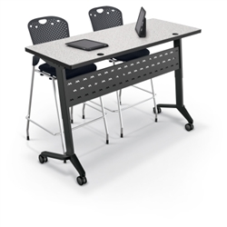 Adjustable Height Training Room Table