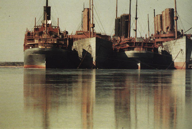 WWI armistice laid up German liners in US waters