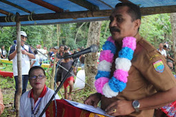 Leonard Kakisina Buka Lomba Dayung HUT ke 94 Jemaat GPM Kamal