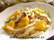 Feniklovo-pomarančový šalát - recept