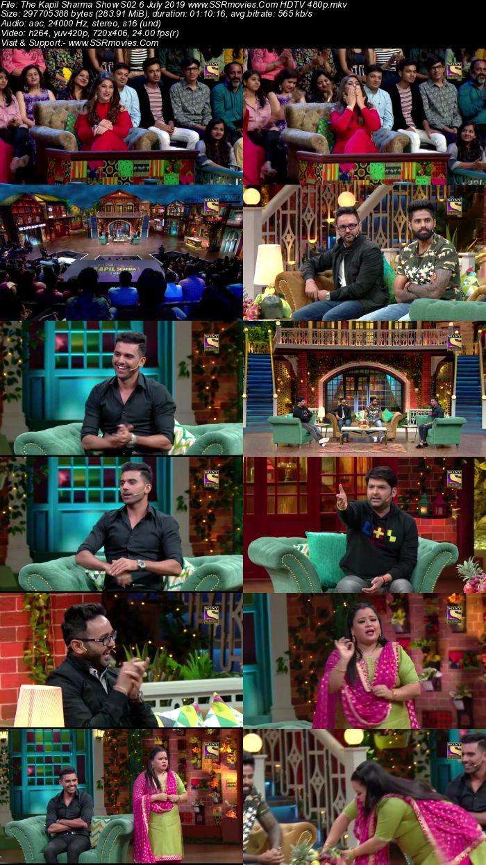 The Kapil Sharma Show S02 6 July 2019 Full Show Download HDTV HDRip 480p