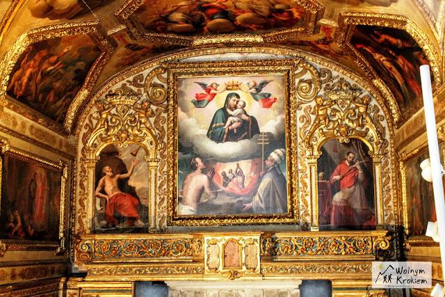 Wnętrze zamku Nuovo w Neapolu