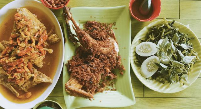 Indonesian Balinese specialties
