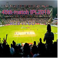 IPL 2018 Cricket Live score RCB vs DD
