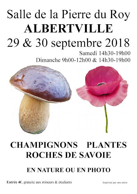 Exposition Mycologique Albertville 2018