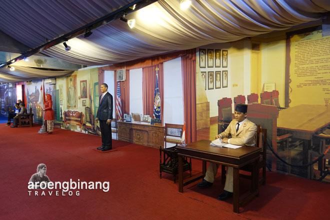 soekarno de arca statue art museum yogyakarta