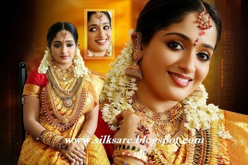 Latest Indian Wedding Silk Saree Jewellery Wedding Hair Style