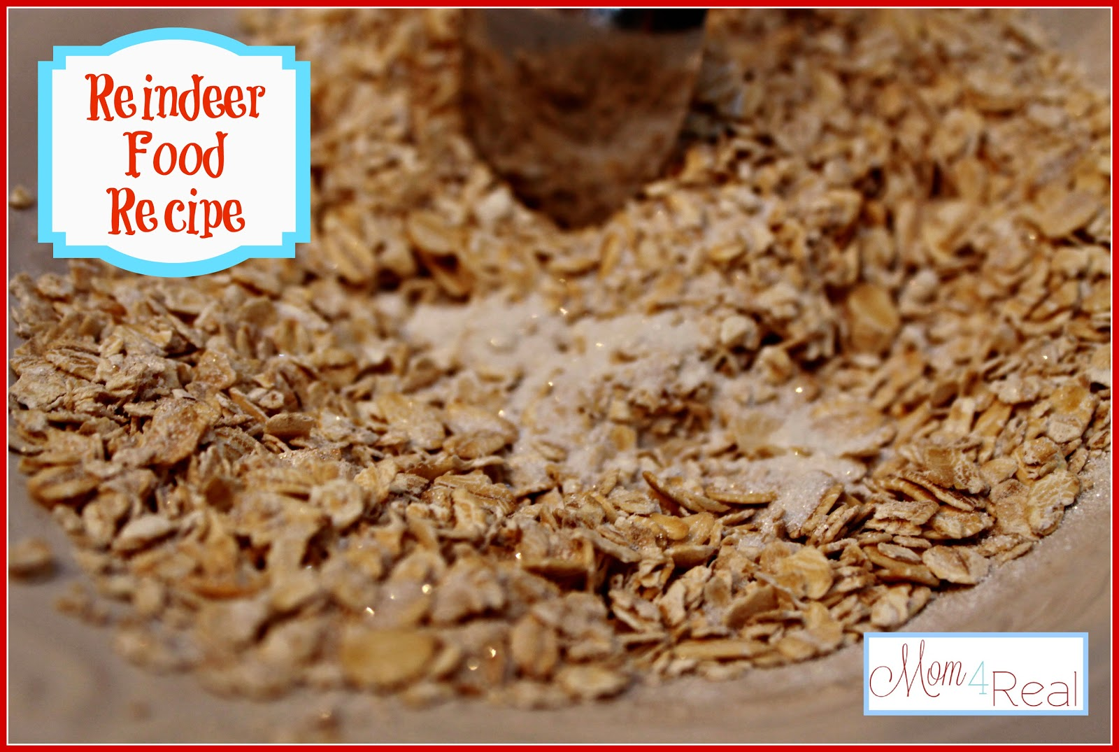 Reindeer Food Recipe With Glitter