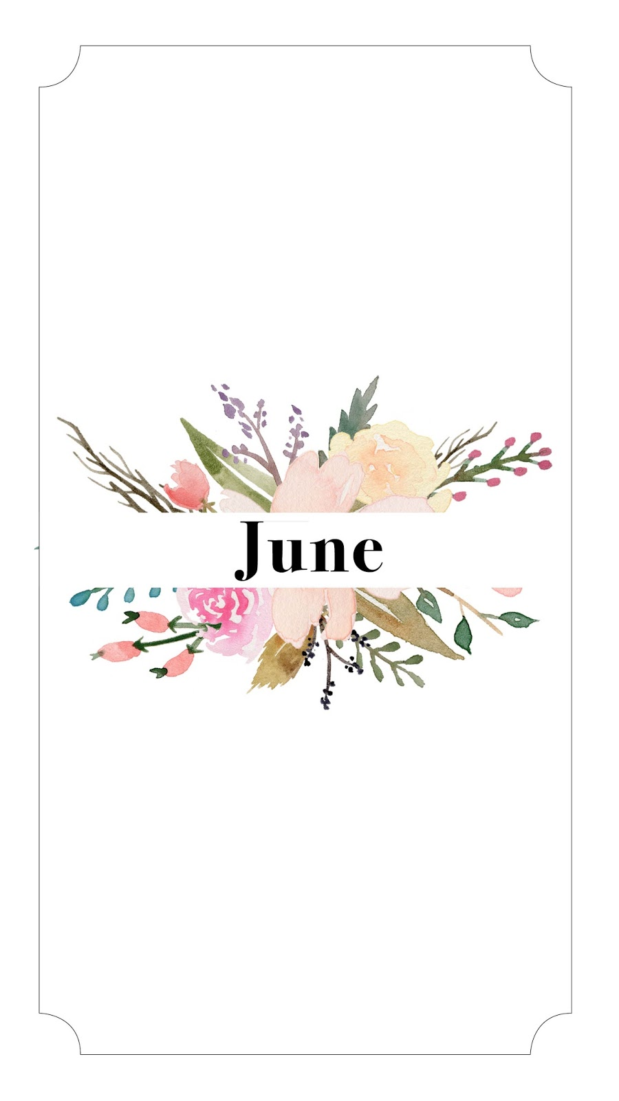 Calendar Girl June Read : Oh hey hannah