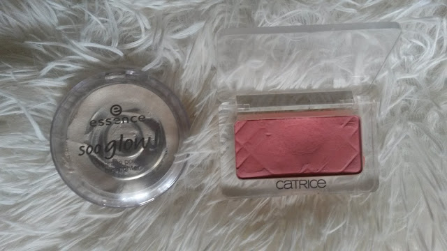 essence highlighte, essence soo glow, catrice rumenilo