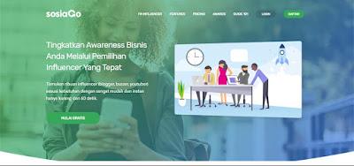 Dapatkan Penghasilan Online dari SOSIAGO Influencer Marketing