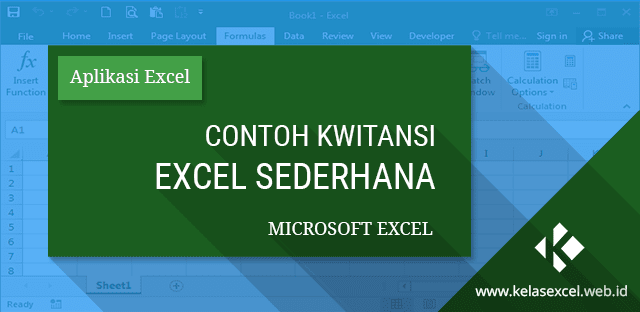 Download Kwitansi Excel Sederhana