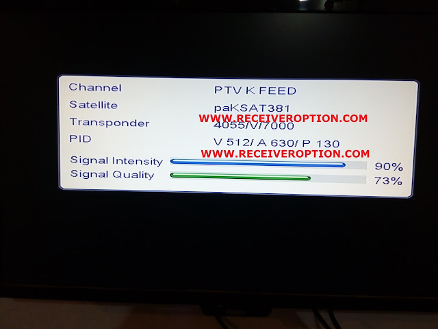 ECHOLINK EL-666 MPEG4 RECEIVER BISS KEY OPTION