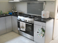 Kitchen Set Finishing Stainless Steel Semarang