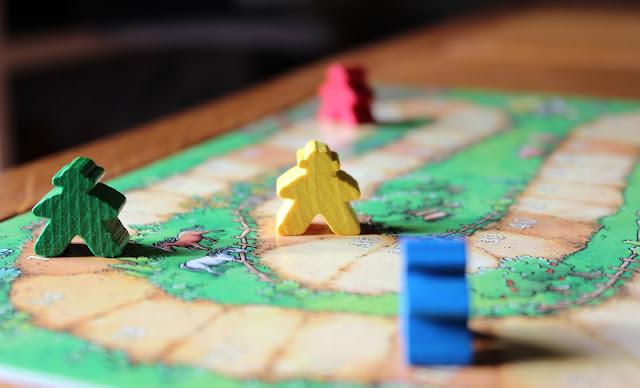 Carcassonne scoring track