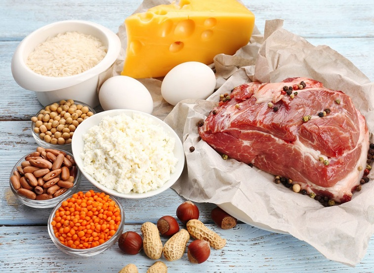Eat protein at every meal