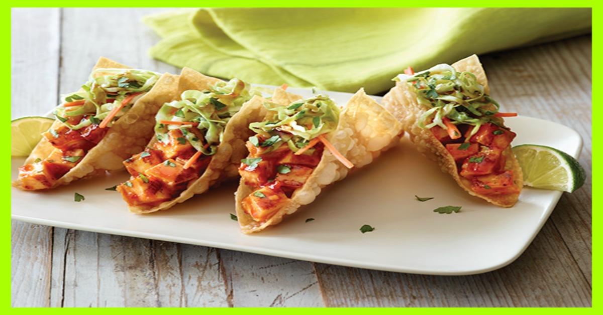 Applebee S Wonton Tacos 5 Smartpoints Weight Watchers