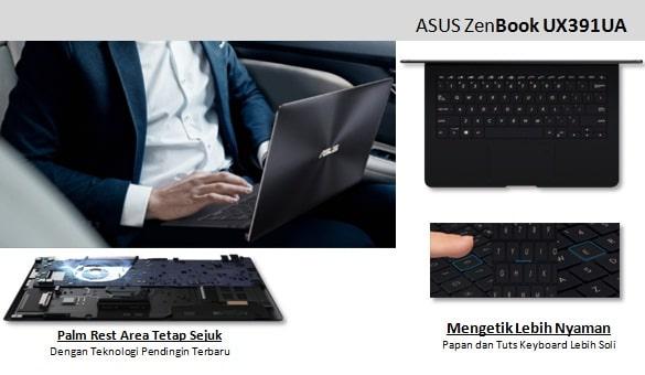 Zenbook S UX391 punya keyboard solid