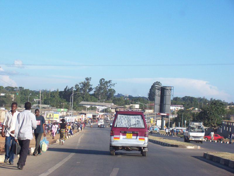 Lusaka City, The Capital of Zambia
