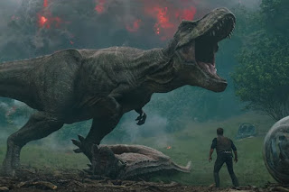 jurassic world el reino caido: los dinosaurios andan sueltos en un espectacular teaser
