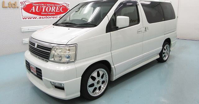 19595t7n8 2001 Nissan Elgrand For Lesotho To Durban