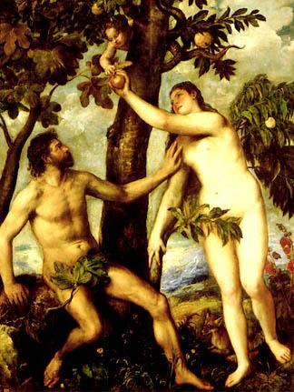 La creación de Adán y Eva